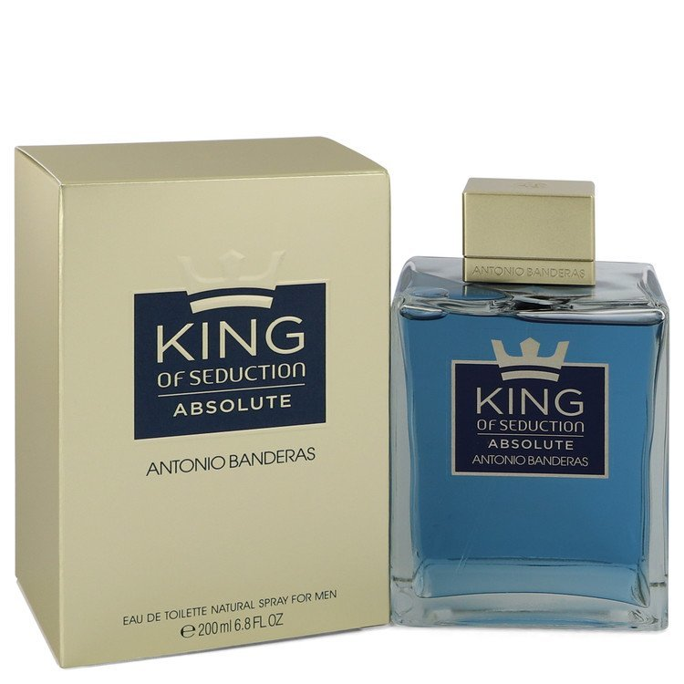 King of Seduction Absolute by Antonio Banderas Eau De Toilette Spray 6.7 oz (Men)