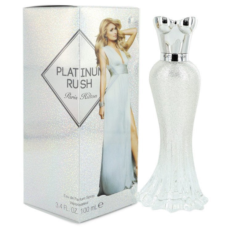 Paris Hilton Platinum Rush by Paris Hilton Eau De Parfum Spray 3.4 oz (Women)