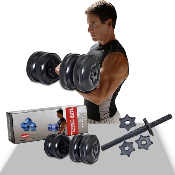 High Quality Adjustable Gym Equipment Dumbbell Sets Water Filled Dumbbell Barbells