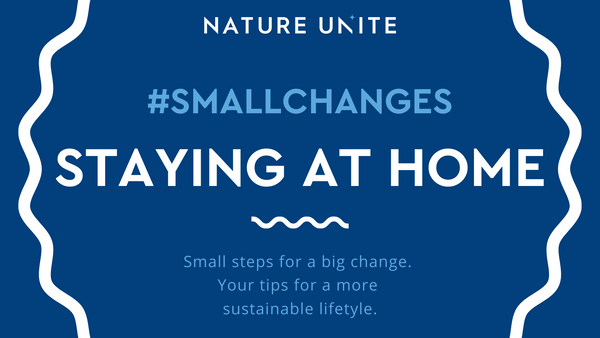 #SMALLCHANGES - STAYING AT HOME