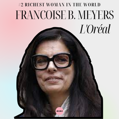 Francoise B Meyers loreal richest women in the world