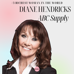 Diane Hendricks ABC supply roofing company richest women in the world