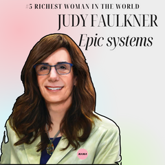 Judy Faulkner Epic systems richest women in the world