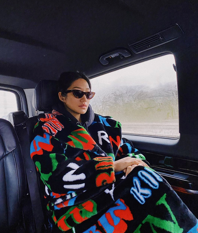 Peggy Gou sun glasses