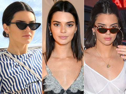 kendall jenner safety pin earrings