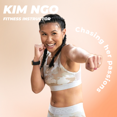 Kim Ngo accountant turned into fitness instructor