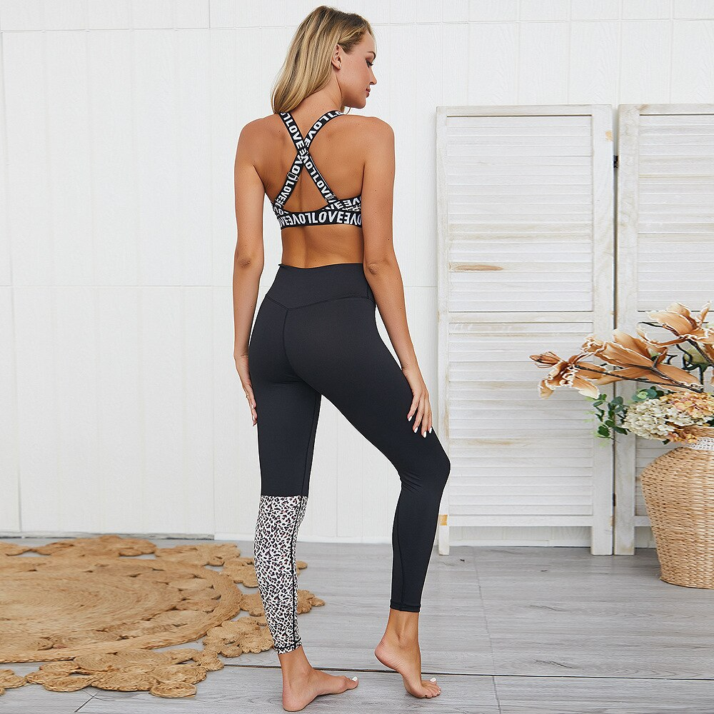 Shan | Seamless Leopard Workout Set