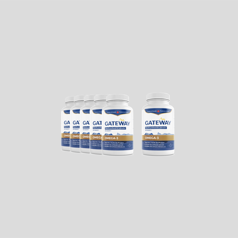 Gateway seal oil omega-3 (120 softgels) x6