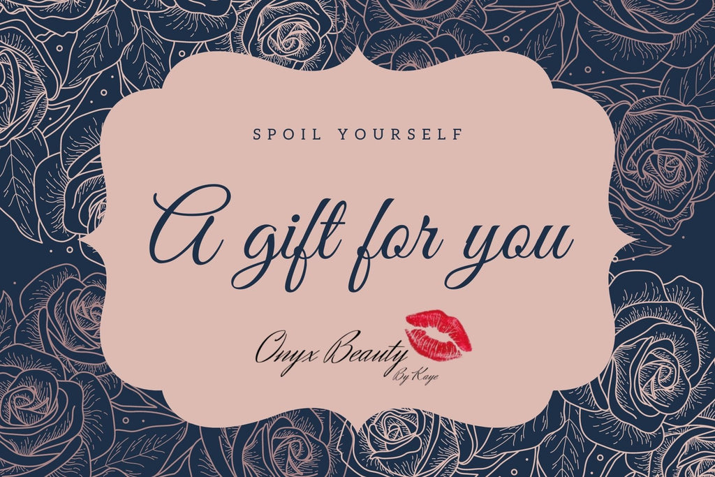 Onyx Beauty By Kaye Gift Card