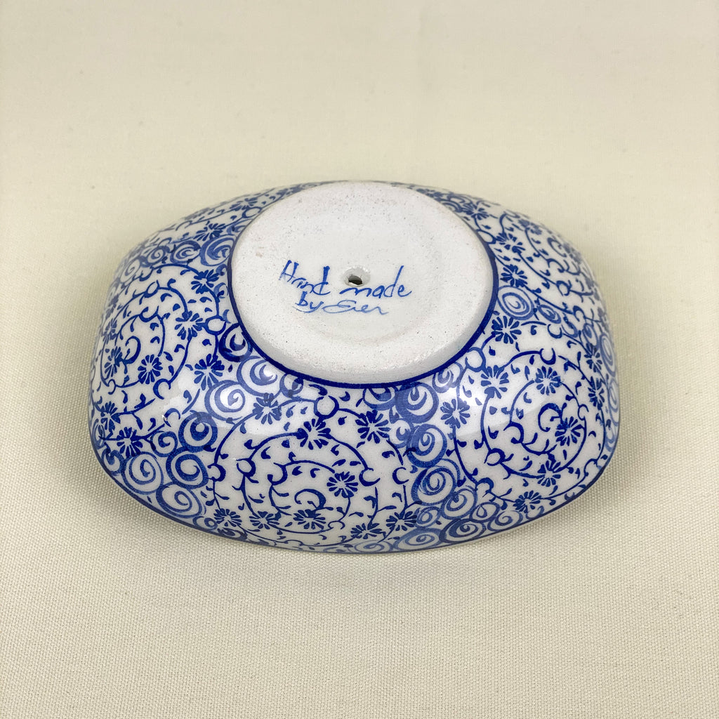 Hand painted bowl/ Soap dish