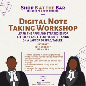 Digital Note Taking Workshop - SHOP BATB