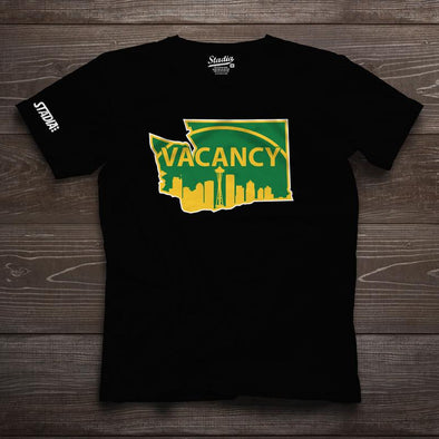NEW RELEASE - Seattle Vacancy Tee