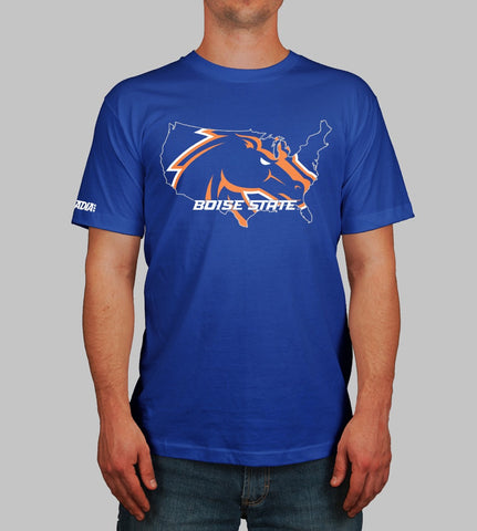 BRONCO NATION T-SHIRT - BOISE STATE - STADIA