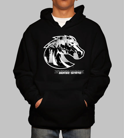 TUNNEL HOODIE  - BOISE STATE - STADIA