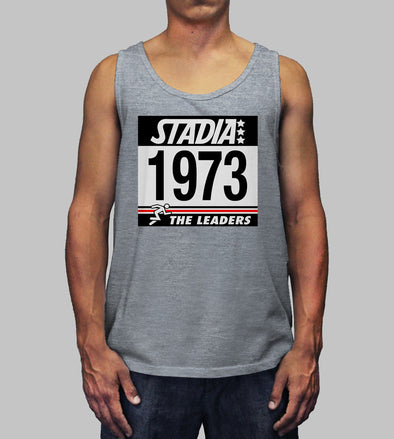 LEADERS TANK - HEATHER GREY - STADIA