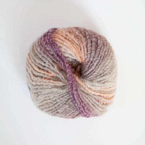Italian Narciso Super Chunky Ply Acrylic/Merino Wool - Multi Apricot/Beige