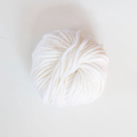Italian Big Jim Chunky Ply Acrylic/Merino Wool - White
