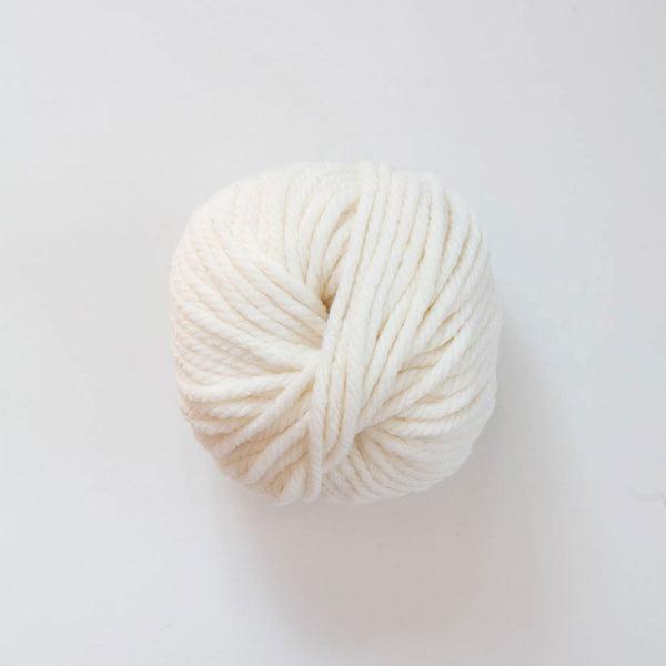 Italian Big Jim Chunky Ply Acrylic/Merino Wool - Cream