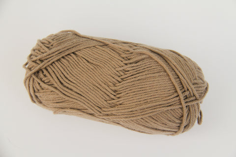 100% 4 Ply Italian Cotton - Camel