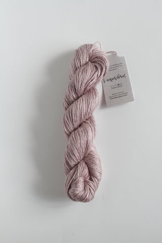 Luxurious Fusion, 3 - 4 Ply Linen/Silk/Alpaca/Wool Mix - Pastel Mauve