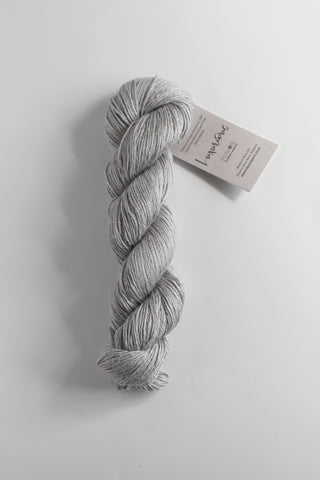 Luxurious Fusion, 3 - 4 Ply Linen/Silk/Alpaca/Wool Mix - Silver