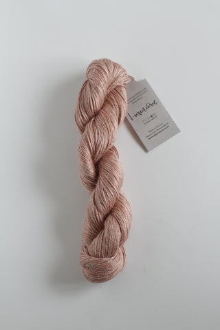 Luxurious Fusion, 3 - 4 Ply Linen/Silk/Alpaca/Wool Mix - Pastel Rose