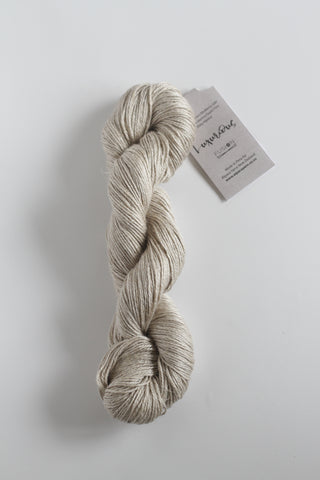 Luxurious Fusion, 3 - 4 Ply Linen/Silk/Alpaca/Wool Mix - Oatmeal
