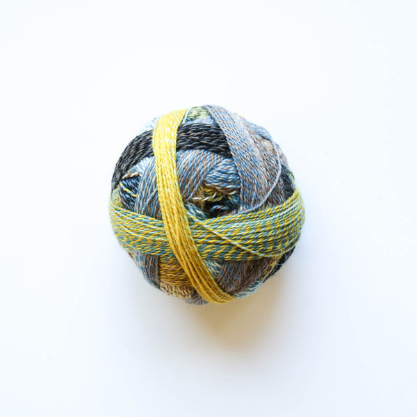 Sock Yarn - Crazy Zauberball 4 Ply Wool - Hourglass