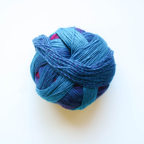 Zauberball 100 4 Ply Merino Wool -  Early Blooming 2350