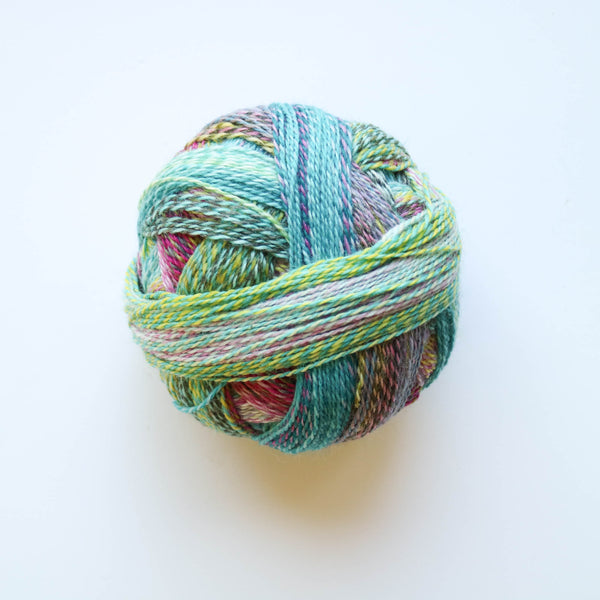 Sock Yarn - Crazy Zauberball 4 Ply Wool - Garden Party