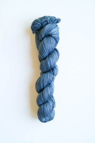 6 Karat Wool and Silk 3 Ply Yarn - Night Sky