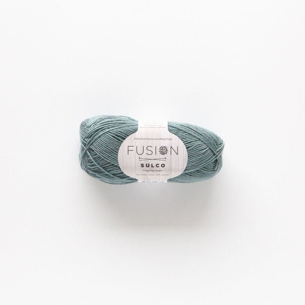 Fusion Sulco Llama/Lyocell 3 - 4 Ply Wool Equivalent - Blue