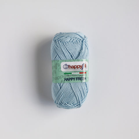 100% 4 Ply Italian Cotton Pic Nic - Powder Blue - 48