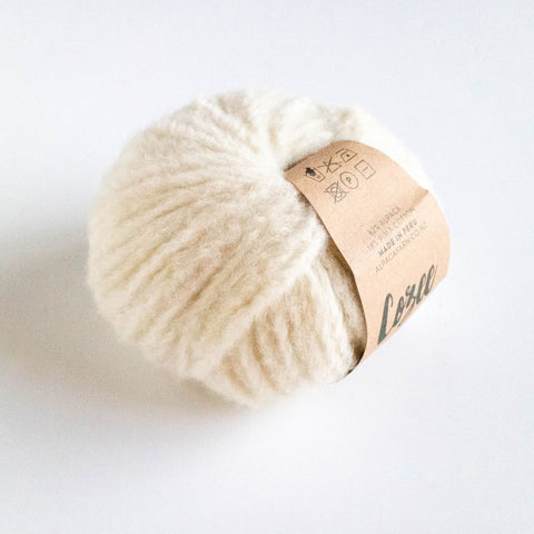 Cozee - Super Thick Mega Ball Alpaca/Cotton - Cream