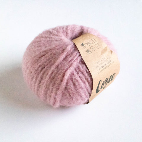 Cozee - Super Thick Mega Ball Alpaca/Cotton - Pale dusky Pink