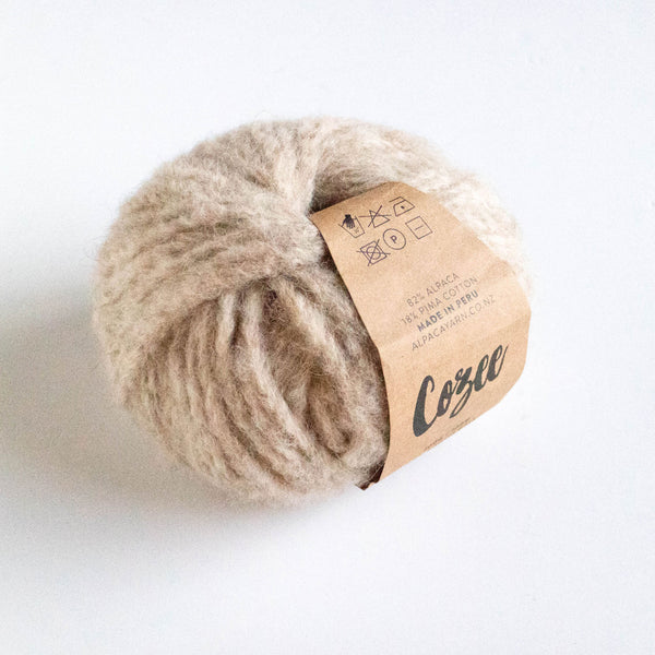 Cozee - Super Thick Mega Ball Alpaca/Cotton - Oatmeal