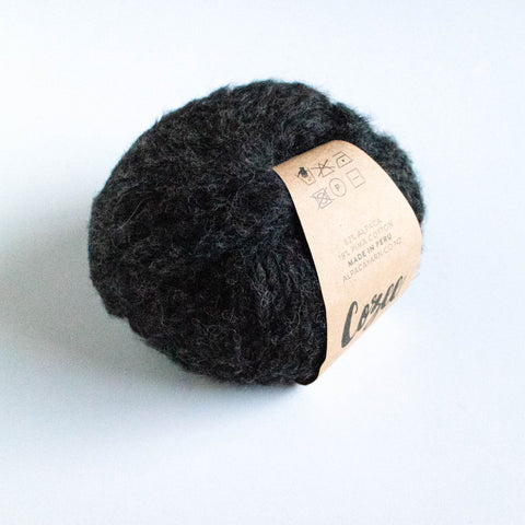 Cozee - Super Thick Mega Ball Alpaca/Cotton - Charcoal