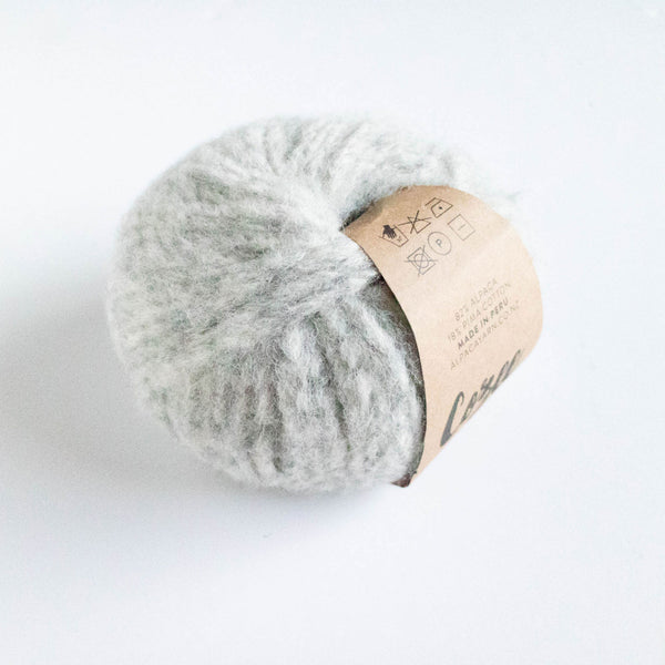 Cozee - Super Thick Mega Ball Alpaca/Cotton - Silver Grey