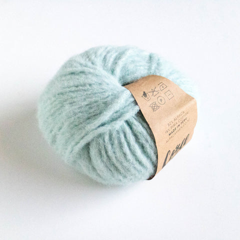 Cozee - Super Thick Mega Ball Alpaca/Cotton - Duck Egg blue