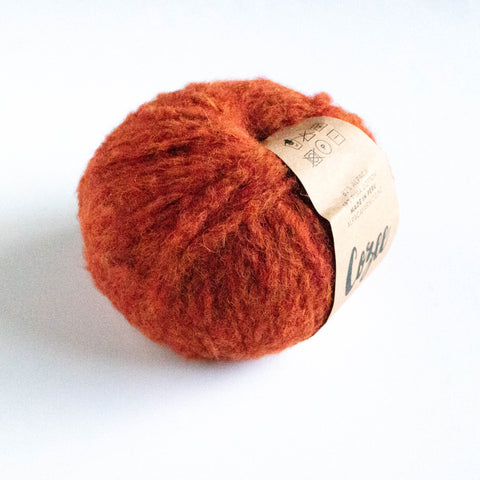 Cozee - Super Thick Mega Ball Alpaca/Cotton - Burnt Orange