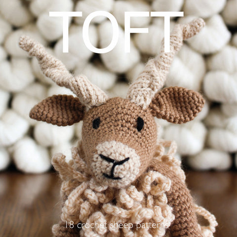 Toft Sheep Crochet Pattern Book