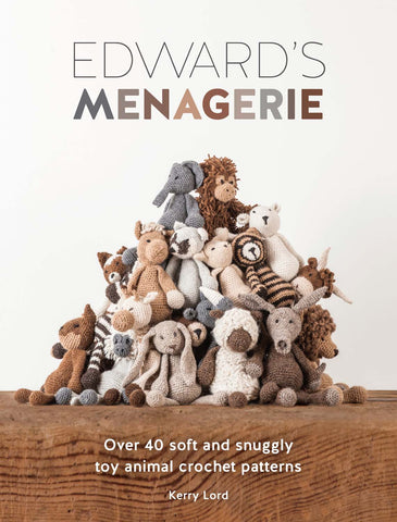 Edwards Menagerie Toy Animal Crochet Pattern Book