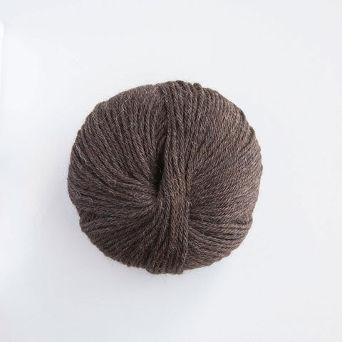 Indiecita 100% Baby Alpaca DK - 8 Ply Wool Equivalent - Dark Brown