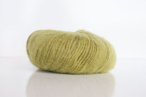 Brushed Baby Alpaca 14ply Wool Equivalent - Green Tea