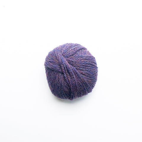 Alpaca-Merino Chainette 10 Ply Wool Equivalent - Purple