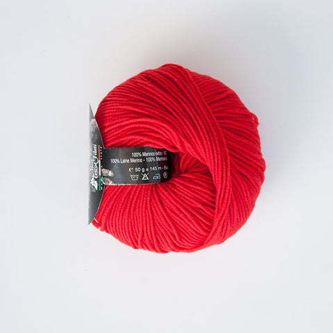 Merino Pluss 4 Ply Wool - Red