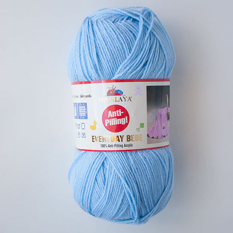 Himalaya Everyday Bebe 4 Ply Acrylic - Blue