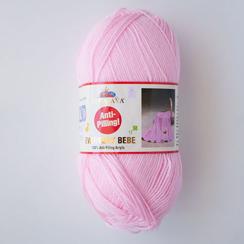 Himalaya Everyday Bebe 4 Ply Acrylic - Pale Pink
