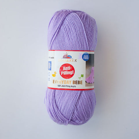 Himalaya Everyday Bebe 4 Ply Acrylic - Lilac