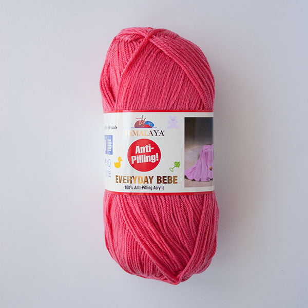 Himalaya Everyday Bebe 4 Ply Acrylic - Coral